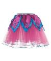 Roze blauw tutu rokje voor meiden