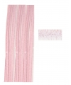 Roze chenilledraad 50 cm