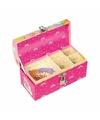 Roze eenhoorn schatkist sieradendoos voor meisjes