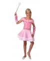 Roze elfjes kostuum voor meisjes