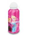 Roze frozen drinkfles elsa en anna