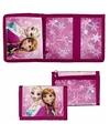 Roze frozen portemonnee 26 cm