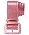 Roze glitter riem 120 cm