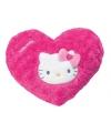 Roze hartjes kussen hello kitty