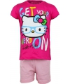 Roze hello kitty pyjama kort