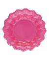 Roze kartonnen schaaltjes 24 cm