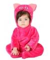 Roze kat dierenkostuum voor babys