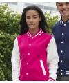 Roze met wit jacket voor dames