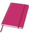 Roze notitie boek gelinieerd a5 formaat