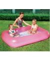 Roze opblaas zwembad 165 cm
