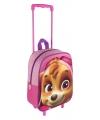 Roze paw patrol trolley