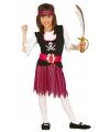 Roze piratenpak voor meisjes
