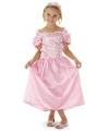 Roze prinsessen jurk met haarband voor meisjes