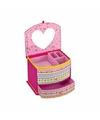 Roze prinsessen sieradendoos voor meisjes