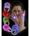 Roze ring met led knipperlicht