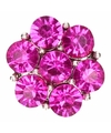 Roze steentjes chunk 1 8 cm
