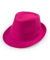Roze trilby hoedje