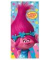 Roze trolls poppy badlaken
