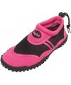 Roze waterschoenen met trekkoord