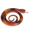 Rubberen slang bruin 90 cm