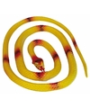 Rubberen slang geel 140 cm