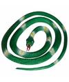 Rubberen slang groen 140 cm