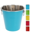 Rvs koelemmer blauw 20 cm
