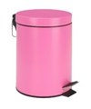 Rvs pedaalemmer roze 5l