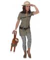Safari jurkje voor dames