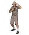 Safari kostuum voor heren