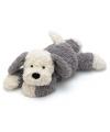 Schapendoes honden knuffel 35 cm