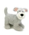 Schnauzer knuffel hond 38 cm