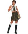 School meisje kostuum