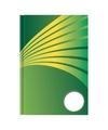 Schrift a4 formaat groene harde kaft