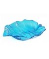 Serveer schaal blauw 22 cm