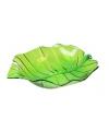 Serveer schaal groen 22 cm