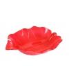 Serveer schaal rood 22 cm