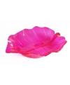 Serveer schaal roze 22 cm