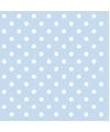 Servetten met stippen blauw 3 laags 20 stuks