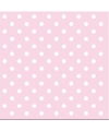 Servetten met stippen roze 3 laags 20 stuks