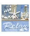 Servetten thema strand relax 20 stuks