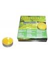 Set van 18 anti muggen waxine lichtjes