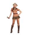 Sexy safari kostuum voor dames