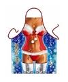 Sexy schort kerstvrouw