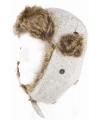 Siberische bontmuts wit