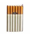 Sigarettenpakje hoesje met peuken print