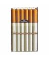 Sigarettenpakje hoesje met touw print
