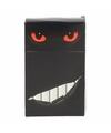 Sigarettenpakje hoesje rode katten ogen