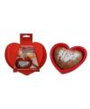 Silicone bakvorm hart 20 cm