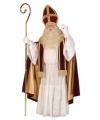 Sinterklaas katoenfluweel sinterklaas kostuum